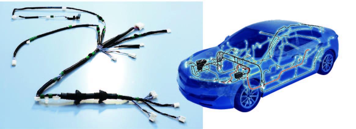 Alminum wiring harness