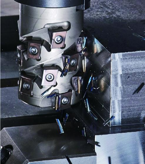 High-efficiency milling