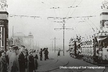 Sumitomo Electric Developed Trolley Wire 1914