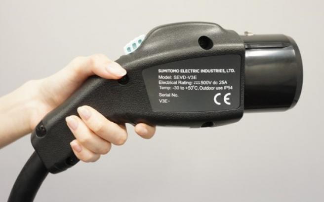 SEVD-V3E电动汽车直流快速充电器/放电连接器电缆组件