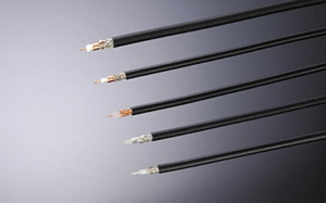 Coaxial cables and wiring materials