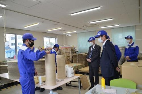 Inspection of Sumiden Friend, a Special Subsidiary, by Top Management