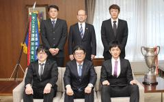 Volleyball Team Serves Up a Victory for Sumitomo Electric